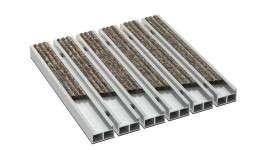 ALUMATEX baize aluminum vinyl doormat systems doormats floor surfaces cleaning