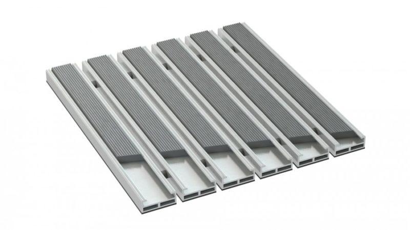 wycieraczki aluminiowe